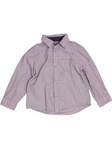 Chemise manches longues garçon KIABI gris 3 ans hiver #1522105_1
