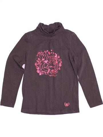 T-shirt col roulé fille SERGENT MAJOR marron 7 ans hiver #1522544_1