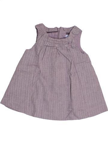 Robe fille OKAIDI gris 3 mois été #1522664_1