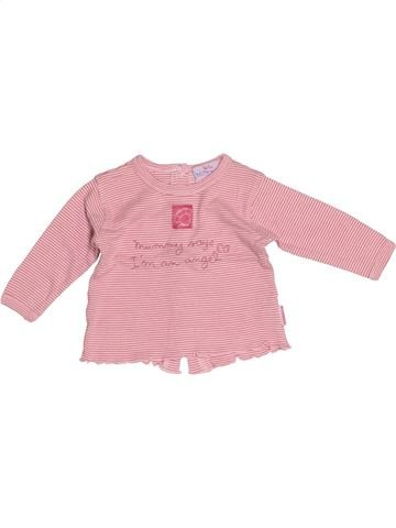 T-shirt manches longues fille PREMAMAN rose 3 mois hiver #1522809_1