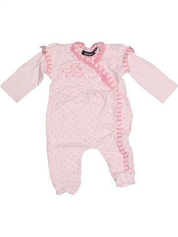 Pyjama 1 pièce fille BEL & BO rose 6 mois été #1522814_1