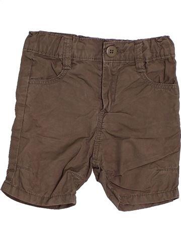 Short - Bermuda garçon DPAM marron 9 mois été #1523294_1