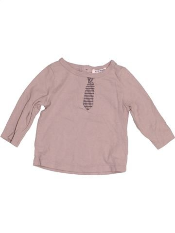 Camiseta de manga larga niño LA REDOUTE CRÉATION beige 6 meses invierno #1523659_1