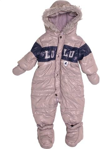 Combi-Pilote garçon LULU CASTAGNETTE beige 6 mois hiver #1523696_1