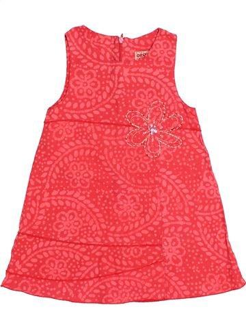 Vestido niña ORCHESTRA rosa 2 años verano #1523841_1