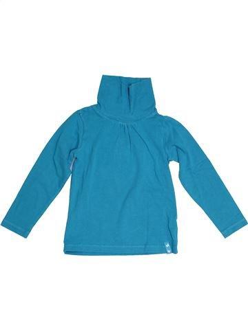 T-shirt col roulé fille KIABI bleu 3 ans hiver #1523995_1