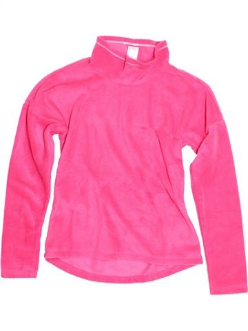 Pull fille QUECHUA rose 12 ans hiver #1524163_1