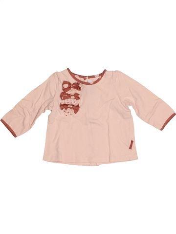 T-shirt manches longues fille SERGENT MAJOR beige 6 mois hiver #1524240_1