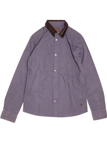 Chemise manches longues garçon LIBERTO violet 14 ans hiver #1525098_1