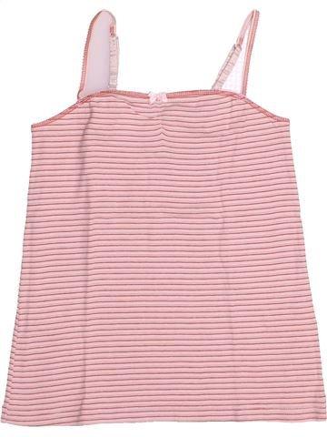T-shirt sans manches fille PETIT BATEAU violet 10 ans été #1525138_1