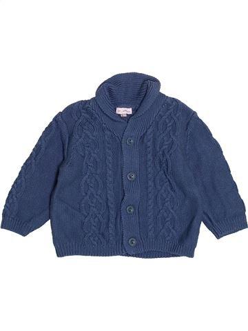 Gilet garçon DPAM bleu 6 mois hiver #1525201_1