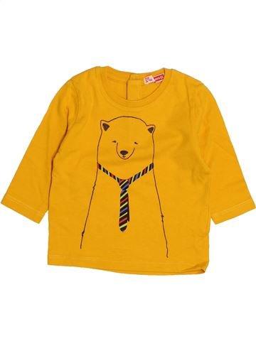 T-shirt manches longues garçon DPAM orange 3 mois hiver #1525553_1