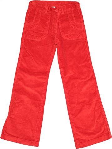 Pantalon fille OKAIDI rouge 8 ans hiver #1525928_1