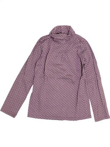 T-shirt col roulé fille SERGENT MAJOR violet 8 ans hiver #1525966_1