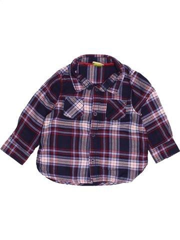 Chemise manches longues garçon TAPE À L'OEIL gris 12 mois hiver #1526246_1