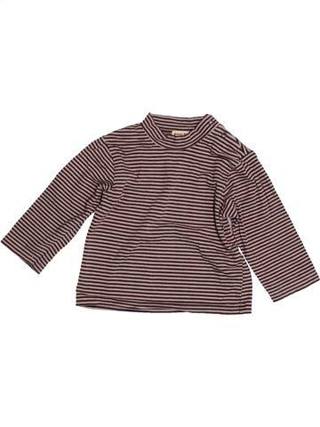 T-shirt manches longues garçon GRAIN DE BLÉ gris 12 mois hiver #1526926_1