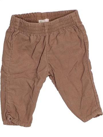 Pantalón niño BENETTON marrón 3 meses invierno #1526991_1