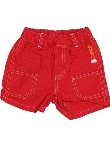Short - Bermuda garçon KIABI rouge 3 mois été #1527017_1