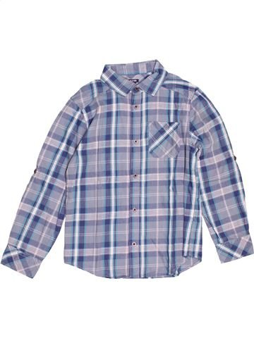 Chemise manches longues garçon KIABI bleu 10 ans hiver #1527374_1