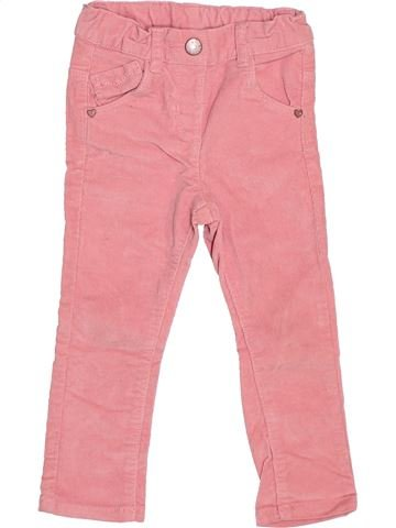 Pantalon fille KIABI rose 2 ans hiver #1527815_1