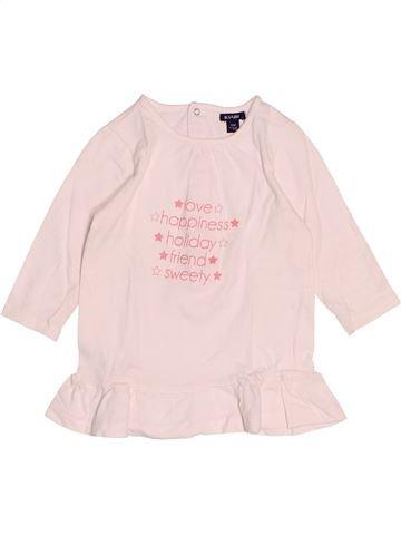 T-shirt manches longues fille KIABI rose 12 mois hiver #1527831_1
