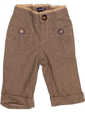 Pantalón niña JEAN BOURGET marrón 3 años invierno #1528069_1