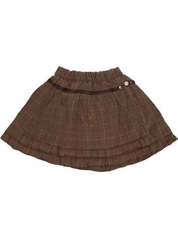 Falda niña CATIMINI marrón 18 meses invierno #1528078_1