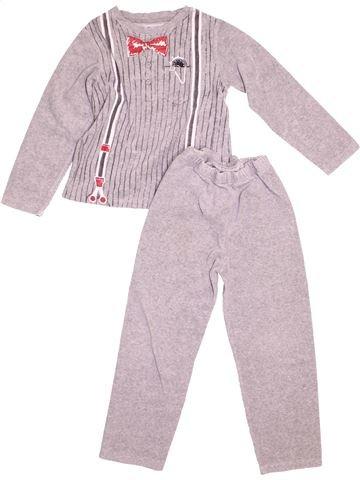 Pyjama 2 pièces garçon LA COMPAGNIE DES PETITS rose 5 ans hiver #1528368_1