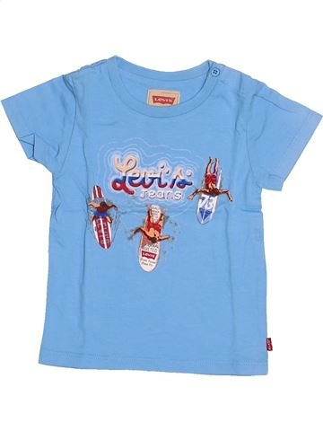 T-shirt manches courtes garçon LEVI'S bleu 18 mois été #1528572_1