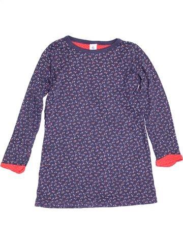 Chemise de nuit fille PETIT BATEAU violet 8 ans hiver #1528739_1