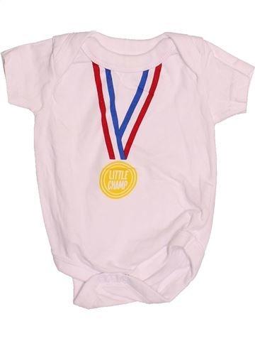 Camiseta de manga corta niño PEP&CO rosa 0 meses verano #1530288_1