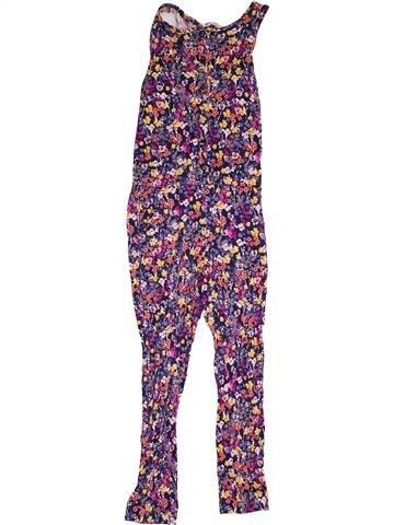 Combinaison longue fille H&M violet 10 ans été #1531236_1