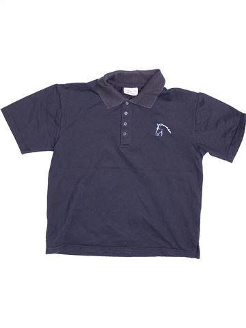 Polo manches courtes garçon MARY ANNE bleu 10 ans été #1532728_1