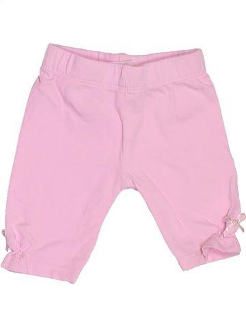 Pantalon fille BABY rose 6 mois hiver #1533412_1