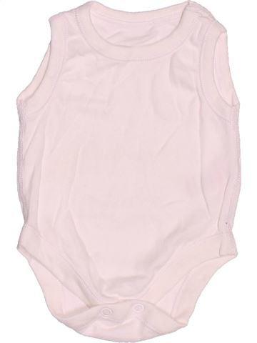 Top - Camiseta de tirantes niño MATALAN blanco 0 meses verano #1533466_1