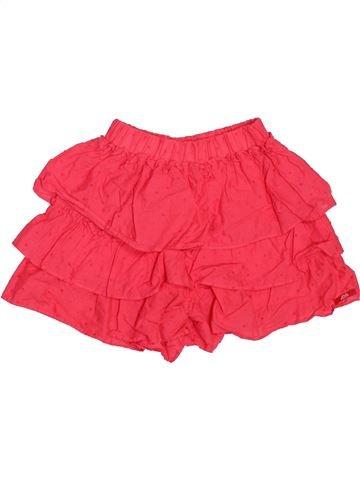 Short - Bermuda fille LILI GAUFRETTE rouge 5 ans été #1534398_1