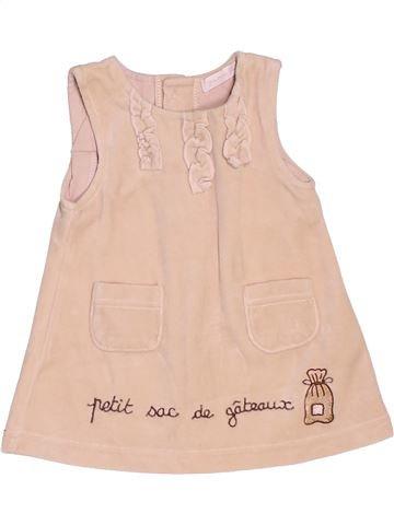 Robe fille GRAIN DE BLÉ beige 3 mois hiver #1534630_1