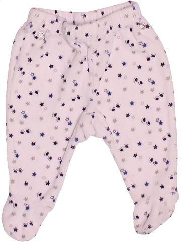 Pantalon garçon GRAIN DE BLÉ blanc 1 mois hiver #1535088_1