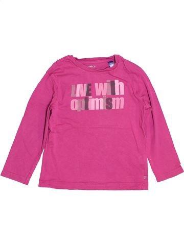 Camiseta de manga larga niño OKAIDI rosa 4 años invierno #1535122_1