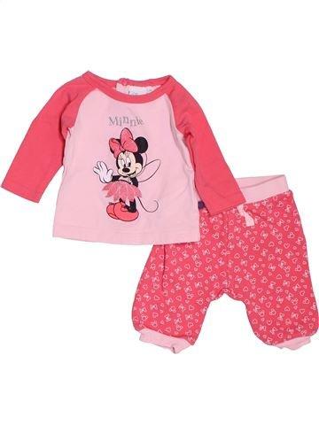 Conjunto niña DISNEY rosa 0 meses invierno #1535461_1