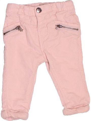 Pantalon fille TAPE À L'OEIL rose 3 mois hiver #1535833_1