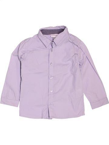 Camisa de manga larga niño VERTBAUDET rosa 2 años invierno #1535945_1