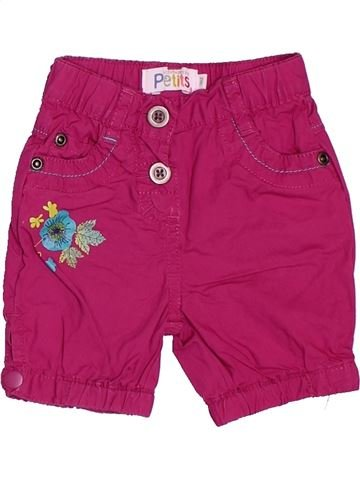 Short - Bermuda fille LA COMPAGNIE DES PETITS violet 3 mois été #1536164_1