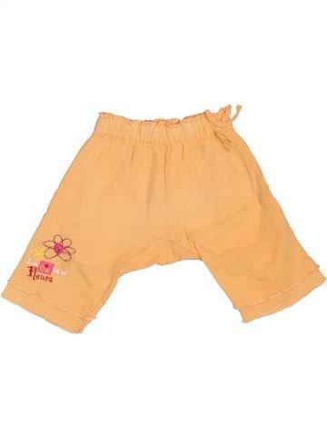 Pantalon fille LA COMPAGNIE DES PETITS orange 6 mois été #1536233_1