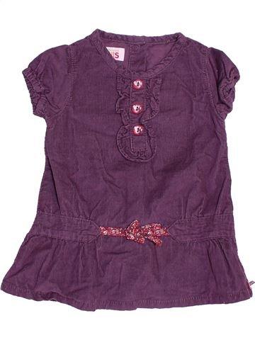 Robe fille LA COMPAGNIE DES PETITS violet 3 mois hiver #1536351_1