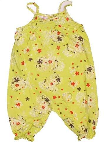 Combinaison longue fille LA COMPAGNIE DES PETITS jaune 6 mois été #1536352_1
