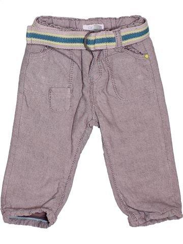 Pantalón niño OKAIDI gris 6 meses invierno #1536540_1