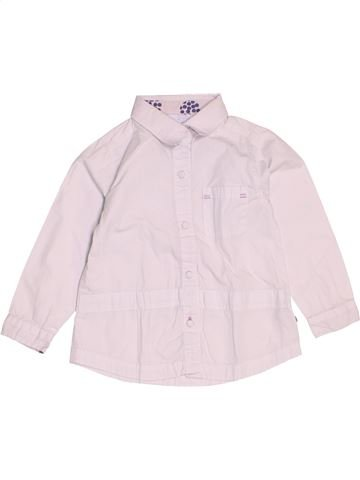 Blouse manches longues fille OKAIDI rose 2 ans hiver #1536926_1