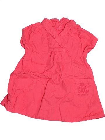 Robe fille DPAM rose 3 mois été #1537007_1