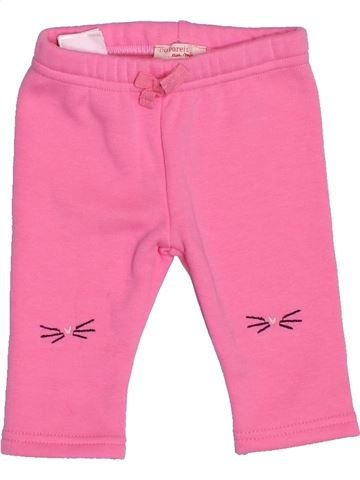 Pantalon fille DPAM rose 3 mois hiver #1537013_1